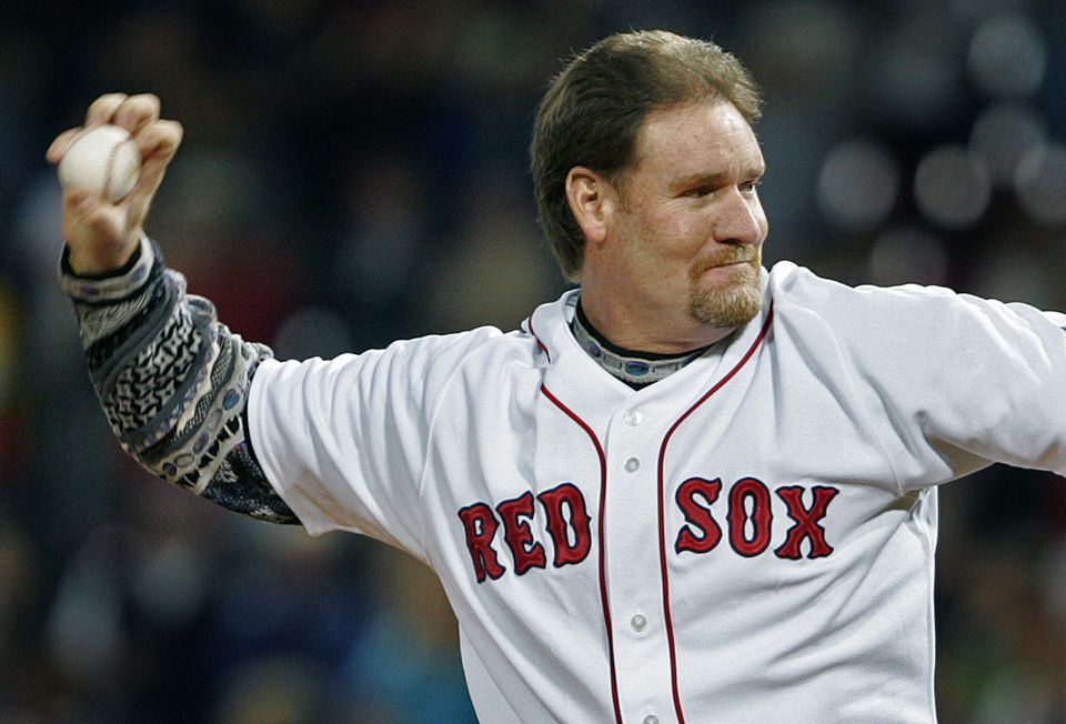 Former Sox third baseman Wade Boggs was known for his hitting, but he never had trouble throwing the ball.