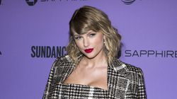 """Taylor Swift attends the premiere of """"Miss Americana"""" at the Eccles Theater during the 2020 Sundance Film Festival on Jan. 23, 2020, in Park City, Utah."""
