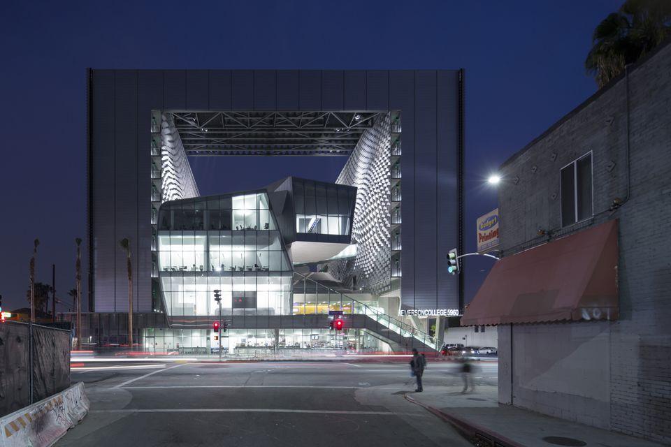 Emerson's campus in Los Angeles has garnered critical praise.