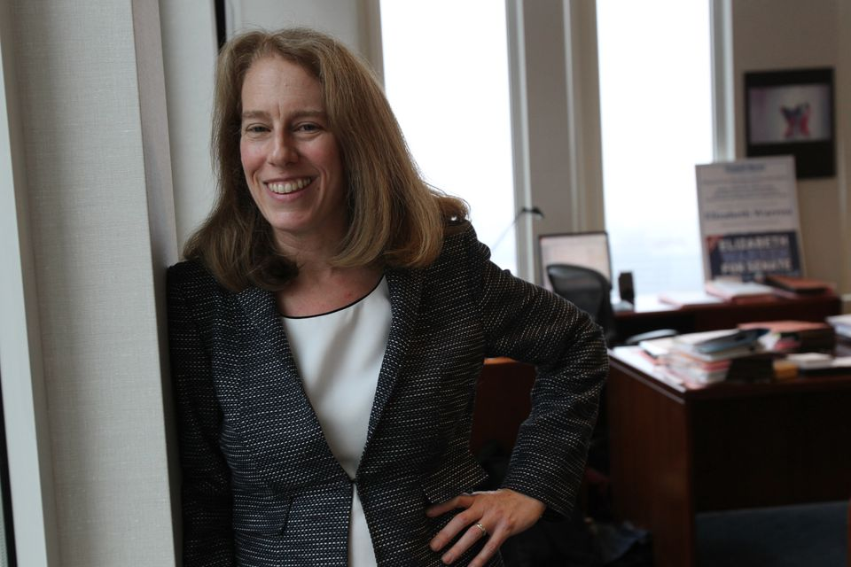 Shannon Liss-Riordan, who has won several high-profile class-action suits on behalf of workers, including Upper Crust Pizza, photographed in her office in 2012.