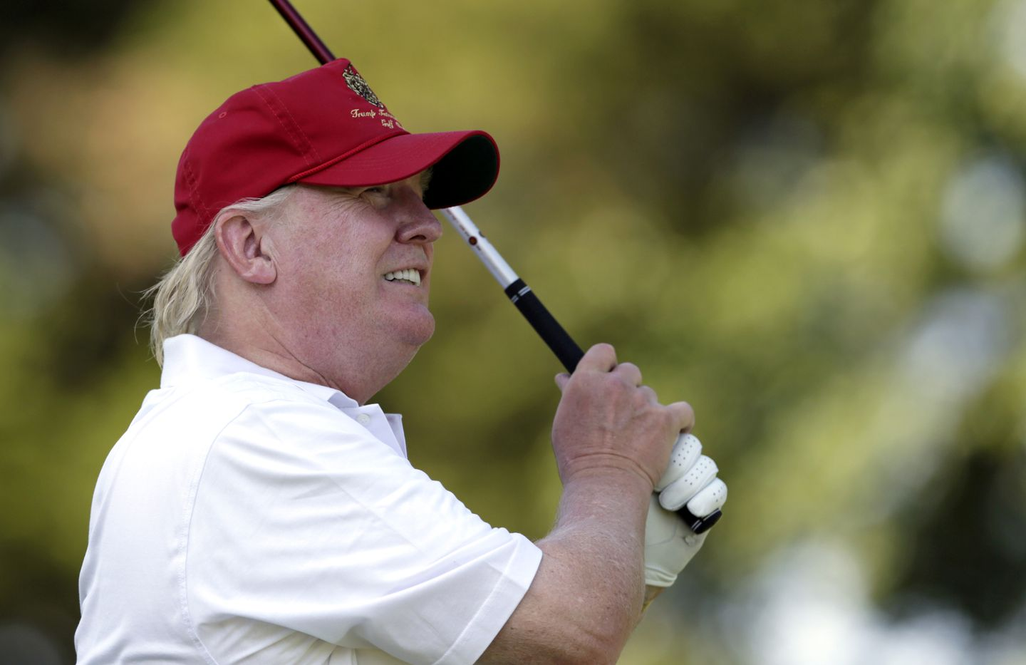 Did Trump Golf This Weekend The White House Won T Say The Boston Globe