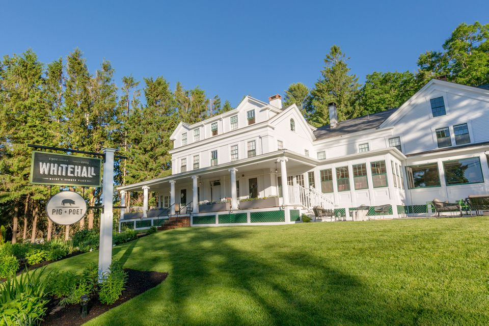 Whitehall, an inn in Camden, Maine, is offering a special Mother's Day Package.