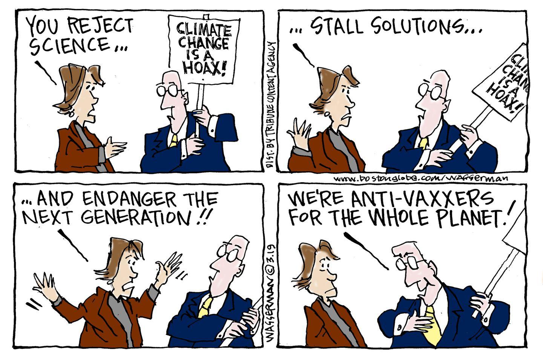 Is climate denial contagious? - The Boston Globe