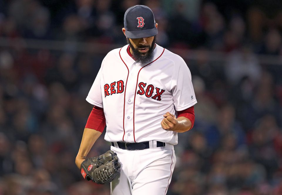 David Price had to leave his April start against the Yankees after one inning because of tingling in his fingers.
