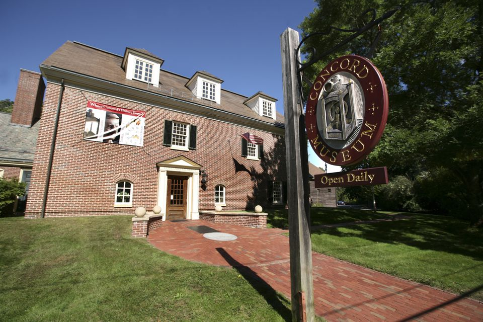 """The Concord Museum has been """"bursting at the seams"""" for years, says Executive Director Peggy Burke."""