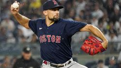 Nate Eovaldi has the ball for the Red Sox, looking to shut down the Yankees for the second consecutive Saturday.