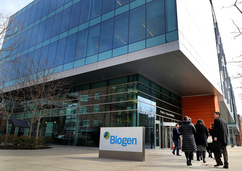 After the announcement, Biogen lost its bragging rights as the state's most valuable biotech to Vertex Pharmaceuticals.